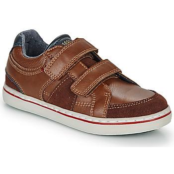 鞋子 男孩 球鞋基本款 André THEOPHILE 棕色