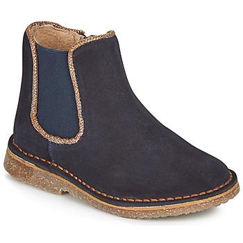 鞋子 女孩 短筒靴 André ARIA 海蓝色