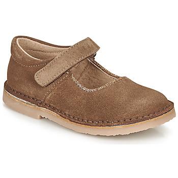 鞋子 女孩 平底鞋 André LAURIANNE 棕色