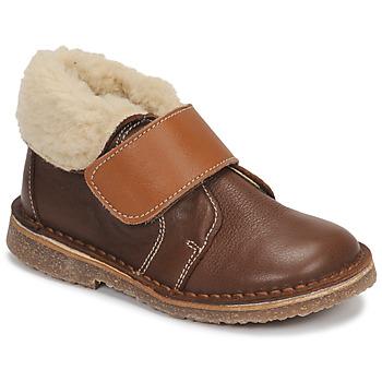 鞋子 男孩 短筒靴 André FLO 棕色