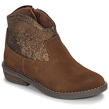 鞋子 女孩 短筒靴 André DOLLY 驼色