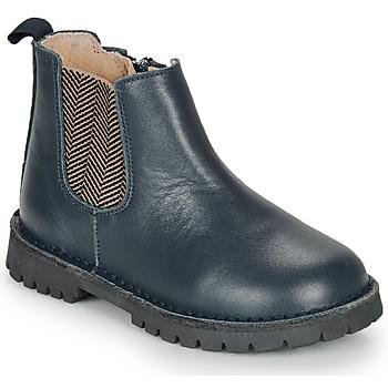 鞋子 男孩 短筒靴 André XAVIER 海蓝色