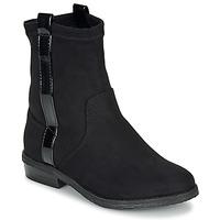 鞋子 女孩 短筒靴 André AIMIE 黑色