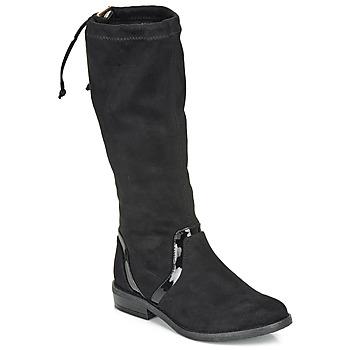 鞋子 女孩 都市靴 André ALEXINE 黑色