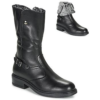 鞋子 女孩 都市靴 André MOSCOU 黑色