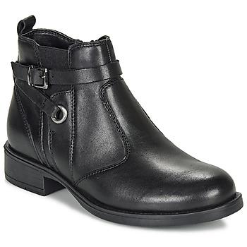 鞋子 女孩 短筒靴 André MATHI 黑色