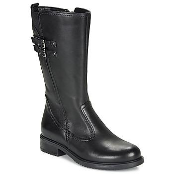 鞋子 女孩 都市靴 André APOLLINE 黑色