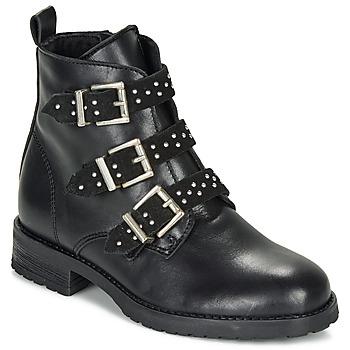 鞋子 女孩 短筒靴 André REGLISSA 黑色