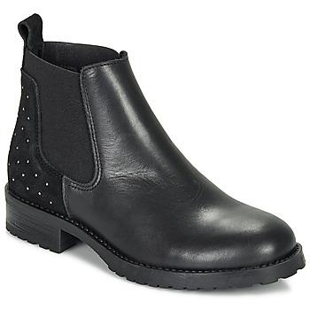 鞋子 女孩 短筒靴 André SIXTINE 黑色