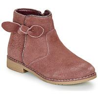 鞋子 女孩 短筒靴 André MALYA 玫瑰色