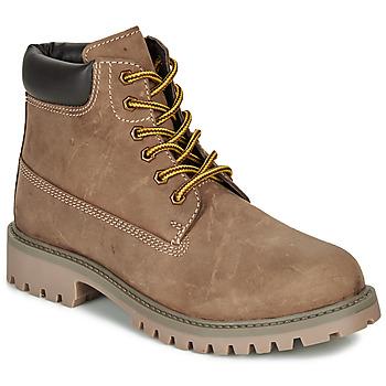 鞋子 男孩 短筒靴 André CHAMOIS 棕色