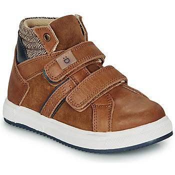 鞋子 男孩 高帮鞋 André TIMOTHE 棕色