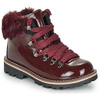 鞋子 女孩 短筒靴 André SANDY 波尔多红