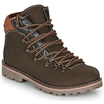 鞋子 男孩 短筒靴 André REMY 棕色