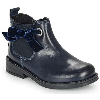 鞋子 女孩 短筒靴 André VAL 海藍色