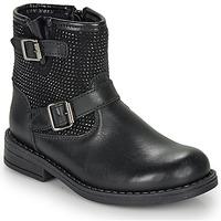鞋子 女孩 短筒靴 André CYDRINE 黑色