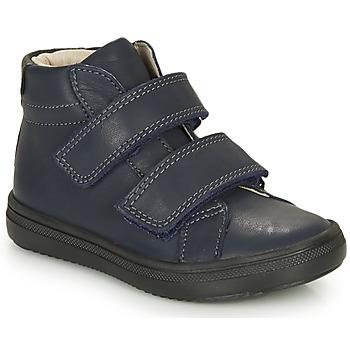 鞋子 男孩 高帮鞋 André EDGAR 海蓝色