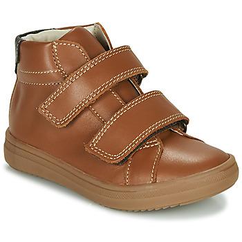 鞋子 男孩 高帮鞋 André EDGAR 棕色