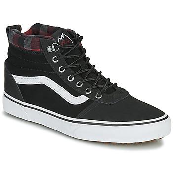 鞋子 男士 高幫鞋 Vans 范斯 WARD NR MON 黑色