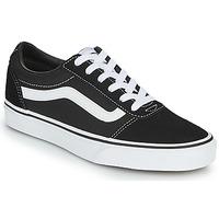 鞋子 女士 球鞋基本款 Vans 范斯 WARD W 黑色