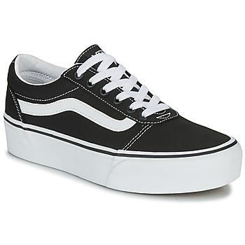 鞋子 女士 球鞋基本款 Vans 范斯 WARD PLATFORM 黑色