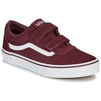 鞋子 儿童 球鞋基本款 Vans 范斯 WARD JU VL BDX 波尔多红