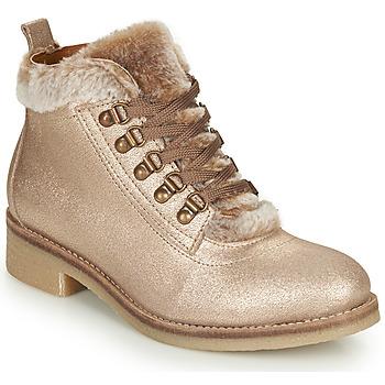 鞋子 女士 短筒靴 André BRISE 米色