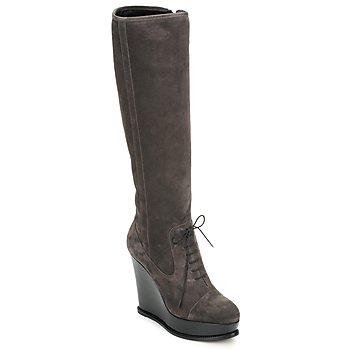 鞋子 女士 都市靴 Moschino Cheap & CHIC CA2603 灰褐色