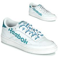 鞋子 女士 球鞋基本款 Reebok Classic CLUB C 86 白色 / 蓝色