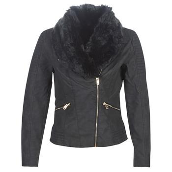 衣服 女士 皮夹克/ 人造皮革夹克 Only ONLCLASSY 黑色