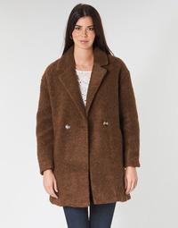 衣服 女士 大衣 Only ONLNINA 棕色