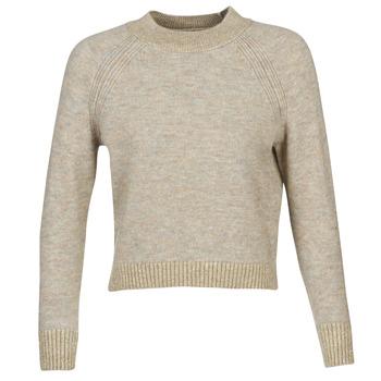 衣服 女士 羊毛衫 Only ONLFRANJA 米色