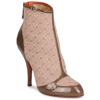 鞋子 女士 短靴 Missoni LISCIA 米色 / 棕色
