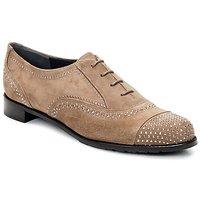 鞋子 女士 系带短筒靴 Stuart Weitzman 斯图尔特 韦茨曼 DERBY 米色