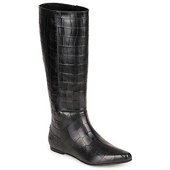 鞋子 女士 都市靴 Roberto Cavalli 罗伯特·卡沃利 SPS749 黑色