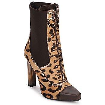 鞋子 女士 短靴 Roberto Cavalli 罗伯特·卡沃利 SPS769 棕色