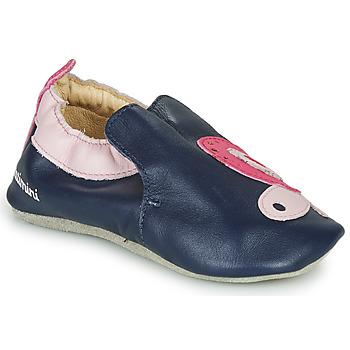 鞋子 女孩 拖鞋 Catimini CITOLA 海蓝色 / 玫瑰色