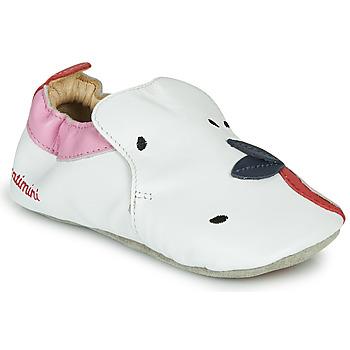鞋子 女孩 拖鞋 Catimini CIRINI 白色 / 玫瑰色