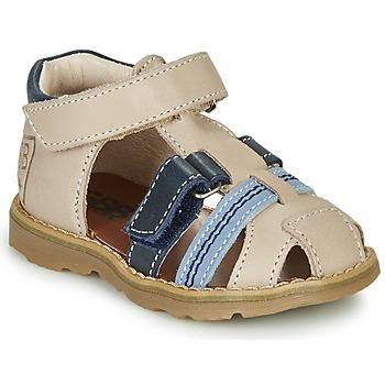 鞋子 男孩 凉鞋 GBB DIMMI 米色 / 蓝色