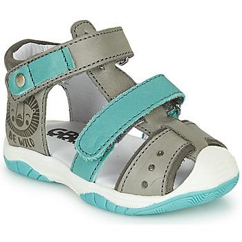 鞋子 男孩 涼鞋 GBB EUZAK 灰色 / 藍色