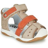 鞋子 男孩 凉鞋 GBB EUZAK 米色 / 橙色