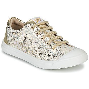 鞋子 女孩 球鞋基本款 GBB MATIA 金色