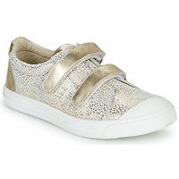 鞋子 女孩 球鞋基本款 GBB NOELLA 白色 / 金色