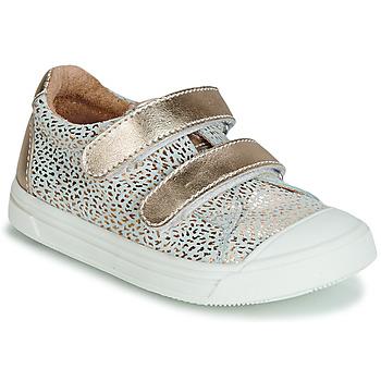 鞋子 女孩 球鞋基本款 GBB NOELLA 金色