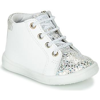 鞋子 女孩 高帮鞋 GBB FAMIA 白色 / 银灰色