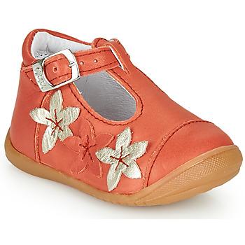 鞋子 女孩 平底鞋 GBB AGATTA 珊瑚色
