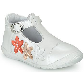 鞋子 女孩 平底鞋 GBB AGATTA 白色