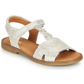 鞋子 女孩 凉鞋 GBB FARENA 白色 / 金色