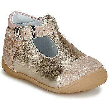 鞋子 女孩 平底鞋 GBB MERTONE 米色