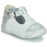 鞋子 女孩 平底鞋 GBB MERTONE 白色